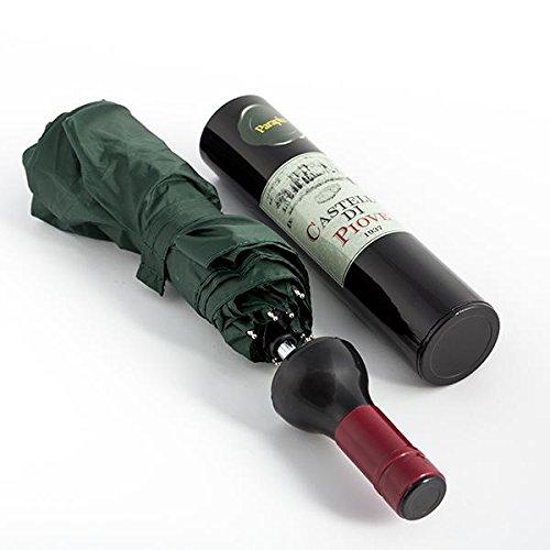 Guarda-chuva em forma de Garrafa de Vinho