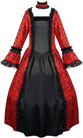 BIrty Womens Deluxe 25% Elegant OFF Medieval Vintage Retro Cos Renaissance Dress