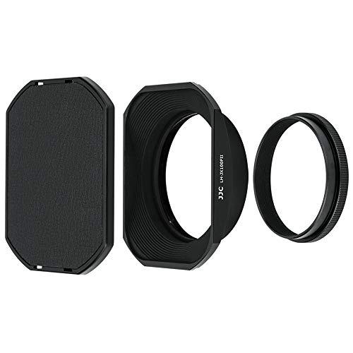 PROfoto.Trend/JJC Schwarz Sonnenblende und Filteradapter für Fujifilm X100V, X100F, X100T, X100S, X100 und X70 Kameras - Rückseitiges Anbringen an Objektiv