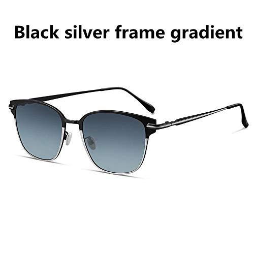 Hörsein gepolariseerde zonnebril, mannen klassieke spiegel veilig rijden uit voor sightseeing rijden tegen schittering ultraviolet stralen voor buiten.