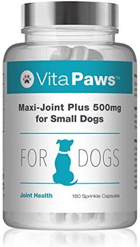 Maxi-Joint Plus 500mg para Perros Pequeños - 180 Cápsulas - VitaPaws