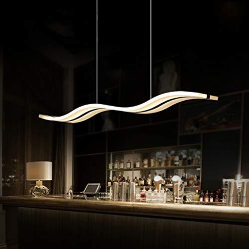 Modernen Led Pendelleuchte Für Kücheninsel Dimmbar Deckenleuchte Flush Mount,Esszimmer Hängen Beleuchtungsvorrichtungen,Einstellbare Bar Während Der Lampe Kronleuchter A 98x12cm(39x5inch)