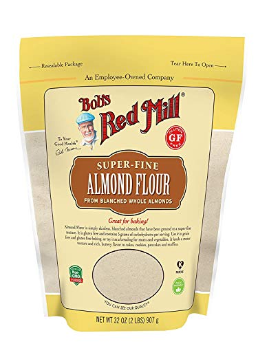 BOB'S RED MILL Flour Almond Blanched Size 32 OZ,(Pack - 4)