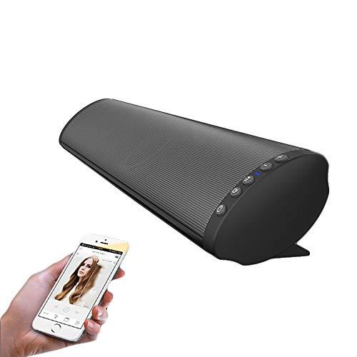 YQQWN 21 inch geluidsbar, geïntegreerde dual chip stereo soundbar, sterke bas draadloze Bluetooth 5.0-audio-luidspreker voor TV, Sound Bar ondersteunt AUX en USB, TF