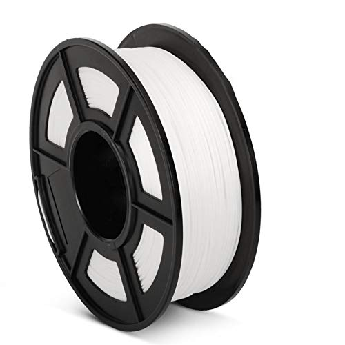 1KG Diameter: 1.75mm 3D Printer Filament, Printing Material, for Printers, 3D Printing Pen Accessory Tool (Color : PLA Plus White)