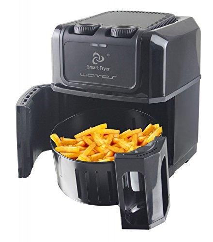 emerio Smart Fryer Waves friggitrice 2,5Litri, Colore: Nero