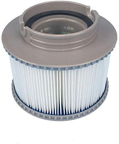 1PCS Filterelement Filterkartusche Pool-Filterkartuschen Whirlpool Filter Kartusche MSpa Filterkartusche für Mspa Aufblasbar Schwimmbad Heilbäder Filter