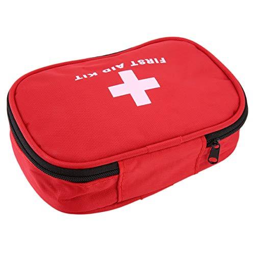 Morninganswer Botiquín de Primeros Auxilios Supervivencia de Emergencia Bolsa de Rescate médico Estuche de Tratamiento Inicio