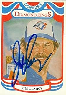 king clancy autograph
