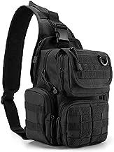 G4Free Tactical EDC Sling Bag Pack with Pistol Holster Sling Shoulder Assault Range Backpack Handgun Bag for Concealed Carry