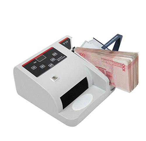 BYCDD Rilevatore di Banconote False, Money Detector Verificatore banonote False a ingombro Ridotto Riduce Le perdite contraffatti,A_19X17X10CM