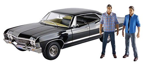 Chevrolet 1967 Impala Sport Sedan mit Sam und Dean Figuren Supernatural (TV Serie 2005) 1/18 von Greenlight 19021