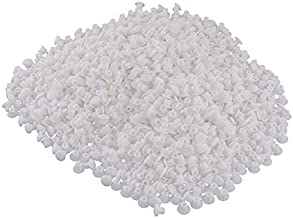 Baoblaze 3x1000x Plastic Gat Stop Meubels Scharnier Gat Cover Cover 5mm Wit A
