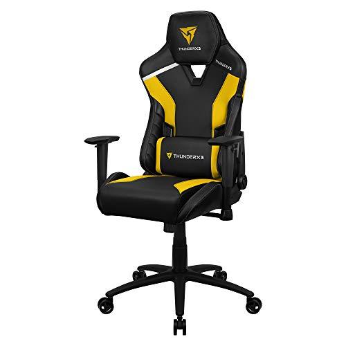 Thunderx3 Tc3 Cadeira Gamer Tc3 Bumblebee Yellow, Amarela