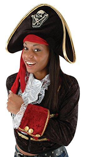 Zweispitz Pirat Hut