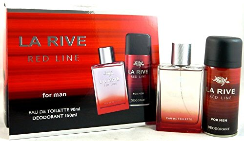La Rive Red Line For Man Edt 90 ml + deodorant 150 ml set
