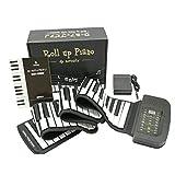 スマリー(SMALY) 電子ピアノ ロールアップピアノ 88鍵盤 持ち運び (スピーカー内蔵) フットペダル付き SMALY-PIANO-88