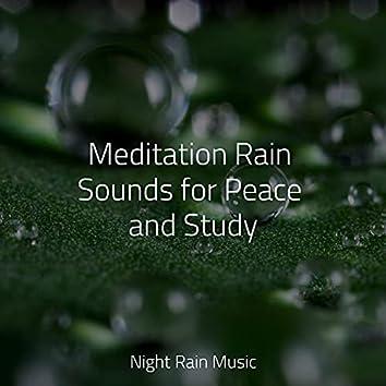 Meditation Rain Sounds for Peace and Study