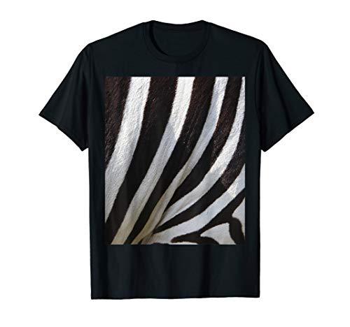 Einfache Halloween Kostüm Idee Zebra Paare T-Shirt