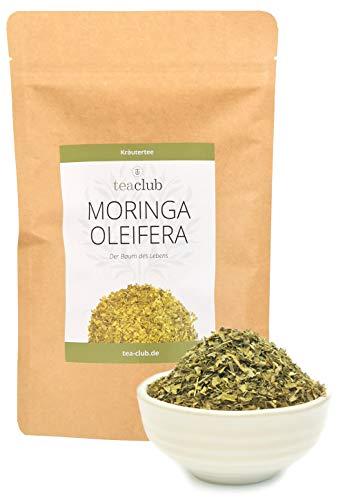 Moringa Tee Lose 100g, Moringa Oleifera Blätter Feinschnitt, Kräutertee TeaClub Herbal Tea