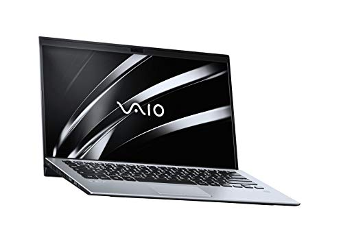 VAIO SX14 Laptop 35,56 cm (14 Zoll) (Full -HD IPS-Display, Intel Core i5- 8265U, 256 GB SSD, 8GB LPDDR3 RAM, Windows 10 Pro, LTE, W-LAN, Bluetooth, HDMI, USB 3.1, Webcam) Notebook, Silber