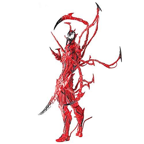 GXHLLYZY La Figura De Acción De PVC De 7 Pulgadas Spiderman Carnage, Carnage Toys, Las Articulaciones Pueden Estar Activas, Puede Hacer Diferentes Formas - Carnage Model Boy Toy