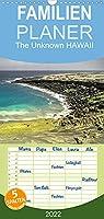 The Unknown HAWAII - Familienplaner hoch (Wandkalender 2022 , 21 cm x 45 cm, hoch): Fotografien der vielfaeltigen Natur Hawaii's (Monatskalender, 14 Seiten )
