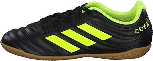 adidas Unisex-Kinder Copa 19.4 In J Fußballschuhe, Mehrfarbig (Negbás/Amasol/Negbás 000), 36 EU