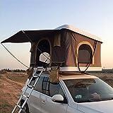 ADKINC 85'Dachzelt, Outdoor Hard Shell Dachzelt LKW mit hydrauliksystem für Camping Reise Familie Fahren (600D Oxford Tuch PU Beschichtung Wasserdicht 3000mm)