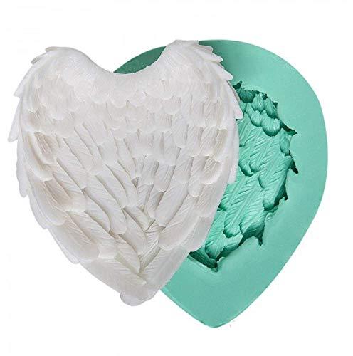 Siliconen mallen voor ambachtelijk gebruik van een engelenvleugel - ook geschikt voor zeep