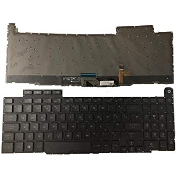 Laptop Keyboard for ASUS GU501G GU501GM GU501GS US United States Black with Backlit