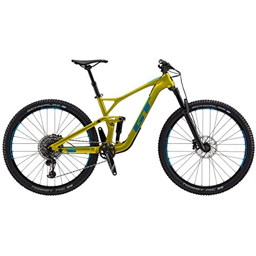 GT M-Sensor Crb Pro 2019 Mountainbike, 29 Zoll, Limettengold S Lime Gold