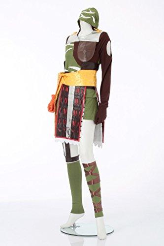 『戦国 basara バサラ まつ風 コスプレ衣装 レディース11号(5L)』の2枚目の画像