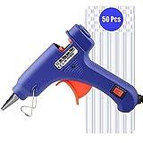 Hot Glue Gun, Upgraded Heats Up Quickly 20W Mini Hot Melt Glue Gun Kit with 50pcs Glue Sticks(4.0'' x 0.27