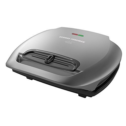 George Foreman 5-Serving Classic Plate Electric Indoor Grill and...