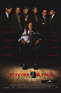 Suicide Kings Poster Movie 11x17 Louis Lombardi Christopher Walken Jay Mohr Henry Thomas