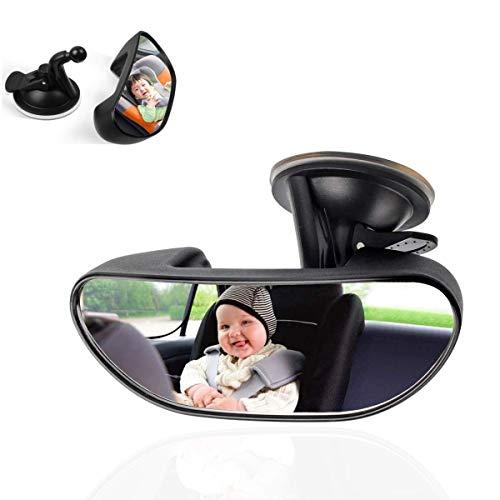 Smart Planet® hochwertiger Kinder Beobachtungsspiegel Kinderspiegel 15x5cm - Fahrschule gewölbte Spiegelfläche - Rückspiegel - Spiegel Beifahrer Auto