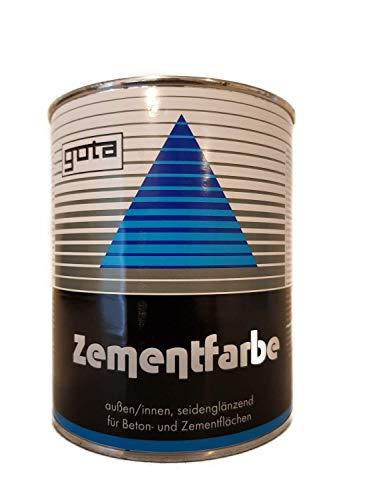 Gota Zementfarbe seidenglänzend außen/innen 0,75 Liter Farbwahl, Farbe (RAL):RAL 1001 Beige