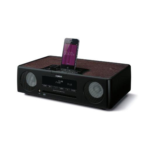 Yamaha TSX-132 Desktop Audio System (CD-/MP3-speler, WMA, FM, USB) voor Apple iPod/iPhone/iPad zwart