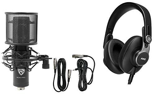 AKG K371-BT Over-Ear Closed Back Studio Headphone w/Bluetooth+Pro Recording Mic