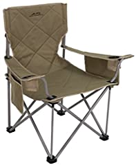 Sturdy powder-coated steel frame and 600D polyester fabric provides stability and comfort Each adjustable armrest comes with a cup holder and side pocket for maximum storage Includes convenient shoulder carry bag, allowing you to transport and store ...