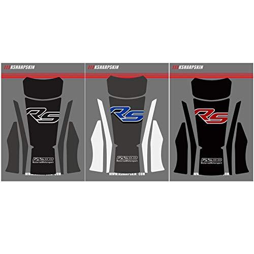 Accesorios de Motocicleta 3D Personalidad Impermeable Racing Fishbone Tank Pad Adesivi calcomanía Pegatina para BMW R1200RS r1200 RS 15-16