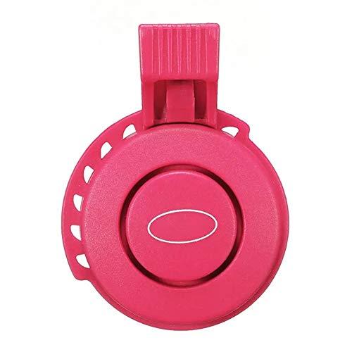 BESISOON Radfahren Bell Hoot Sport Radfahren TWOOC Fahrrad-120dB elektrische Klingel USB-Gebühr Fahrradlenker 3 Modus Sounds Ring Bell Fahrradklingel (Color : Purple, Size : One Size)