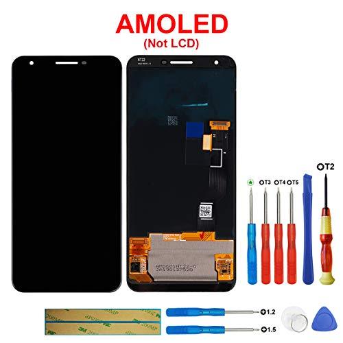 Swark - Pantalla OLED (compatible con Google Pixel 3A XL 6.0
