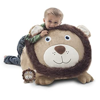 Big Joe Bean Bag Chair- Leo the Lion