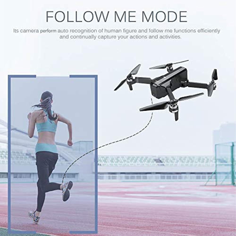 Mobiliarbus RC Hubschrauber SJ R   C F11 5G WiFi FPV GPS Brushless Drohne mit Kamera 1080P 120 ° Weitwinkel Follow Me RC Quadcopter mit 4 Batterie