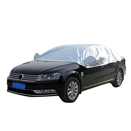 Rehomy Universal UV Schutz Halb Auto Abdeckung Staubdicht Halbauto Abdeckung