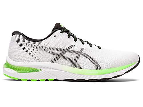 ASICS Men's Gel-Cumulus 22 Running Shoes, 10.5M, White/Black