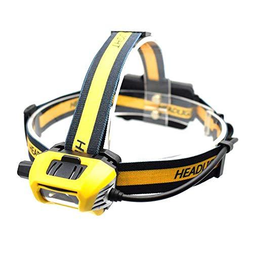 XM-L2 - Linterna LED de cabeza de alta potencia, recargable por USB, con función de memoria SOS