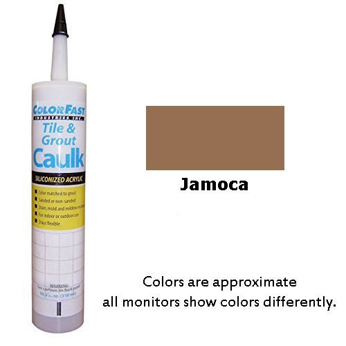 Color Fast Colored Caulk to Match Hydroment Sanded – 20 Colors Available (Jamoca)